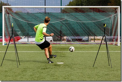 Cognitive Training Virtual Goalkeeper