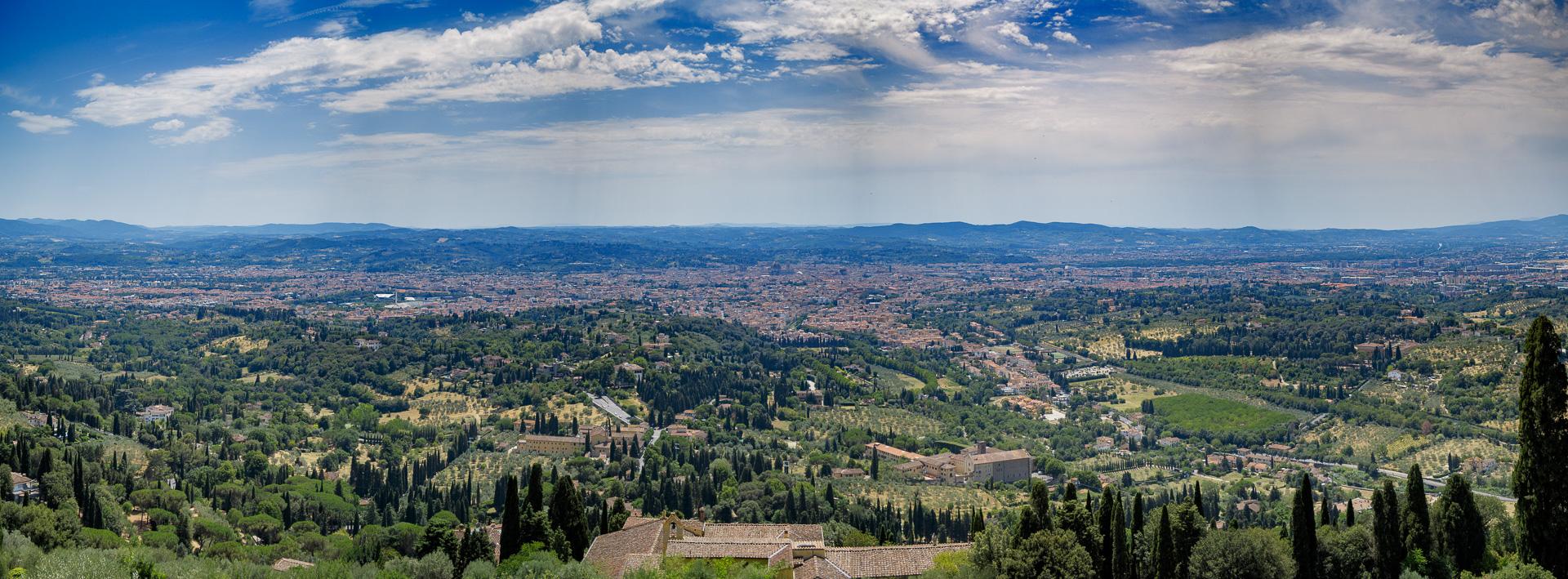 Firenze Dalla Famosa Terrazza Di Fiesole